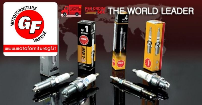 MOTOFORNITURE GF - Offerta SHOP ONLINE candele di accensione NGK per ogni tipologia di motore
