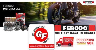 motoforniture gf trova migliori promozioni su pastiglie dischi ganasce dei freni marca ferodo