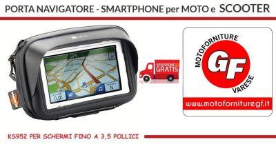 motoforniture gf offerta portanavigatore smartphone kappa serie waterproof ks sgancio rapido