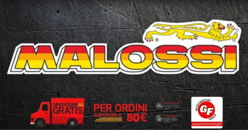 MOTOFORNITURE GF - Occasione ricambi e componenti per moto marca MALOSSI VENDITA ONLINE