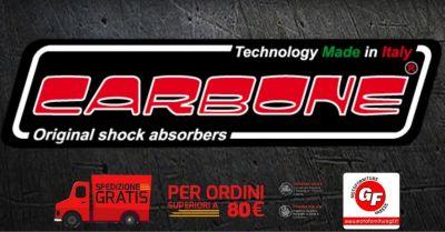 motoforniture gf offerta vendita online ammortizzatori hi tech carbone per moto vespa