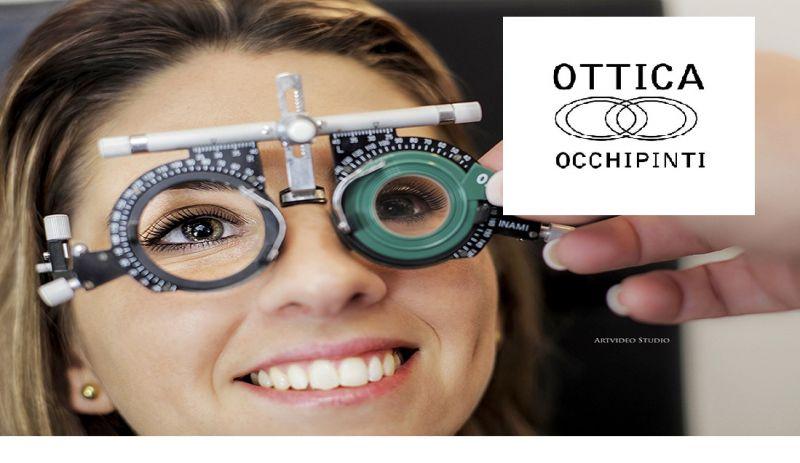 Ottica Occhipinti offerta visita misurazione vista - occasione controllo visivo Ragusa