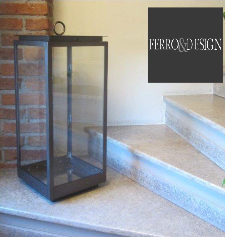 FBB FERRO e DESIGN offerta lampade decor da esterno in ferro - promozione lampade da terra