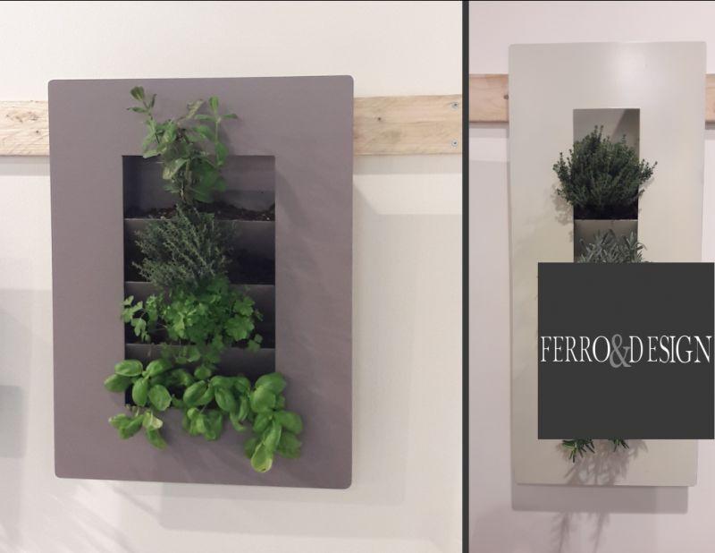 FBB FERRO e DESIGN offerta orto a parete orizzontale in ferro - promozione orto pensili
