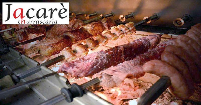 Ristorante Jacaré offerta ristorante tipico brasiliano - occasione carne alla brace