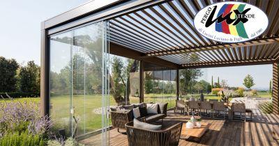 pergolux tende offerta installazione vetrate panoramiche occasione progettazione vetrate roma