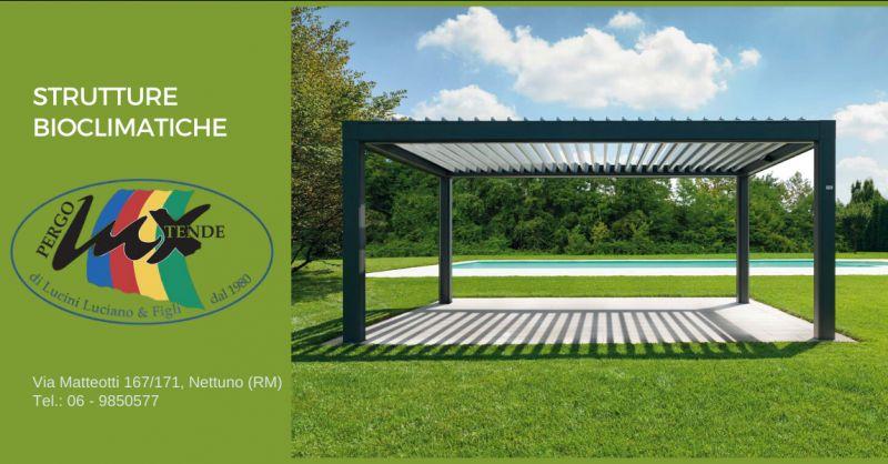 offerta installazione pergola bioclimatica pomezia - occasione strutture bioclimatiche latina