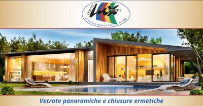 offerta montaggio vetrate panoramiche roma occasione installatori chiusure ermetiche ponza