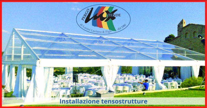 PERGOLUX TENDE Offerta ditta tensostrutture roma - occasione installatori tensostrutture ponza