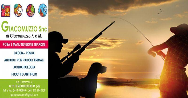 GIACOMUZZO Promozione vendita abbigliamento caccia pesca - Offerta vendita articoli caccia