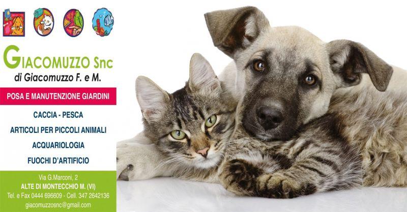 GIACOMUZZO Occasione vendita prodotti animali domestici - Offerta vendita alimenti cani gatti
