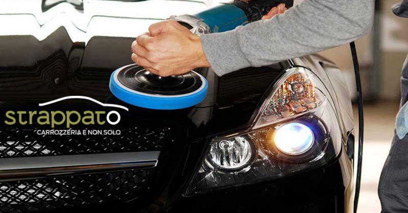 Carrozzeria Strappato offerta verniciatura riparazione danni carrozzeria auto Ancona