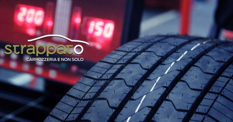 Carrozzeria Strappato offerta inversione gomme auto - occasione controllo pressione pneumatici