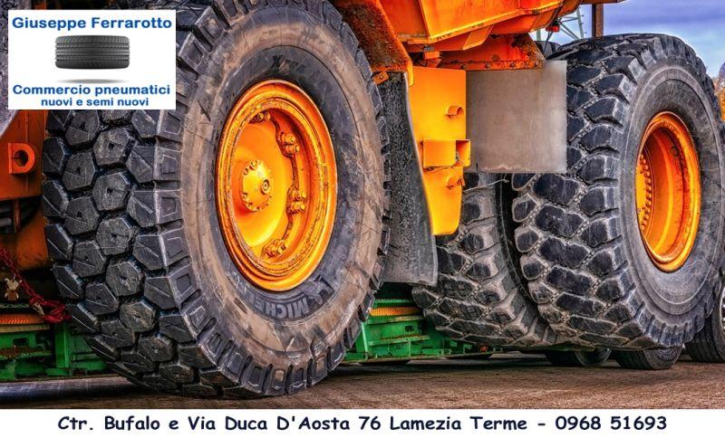 Offerta pneumatici autocarro trattore pirelli catanzaro - pneumatici mezzi agricoli lamezia