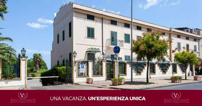 HOTEL VILLA D'AMATO offerta hotel con parcheggio gratuito palermo