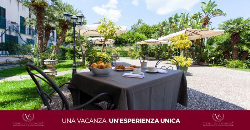 HOTEL VILLA D'AMATO offerta albergo con parcheggio gratuito palermo
