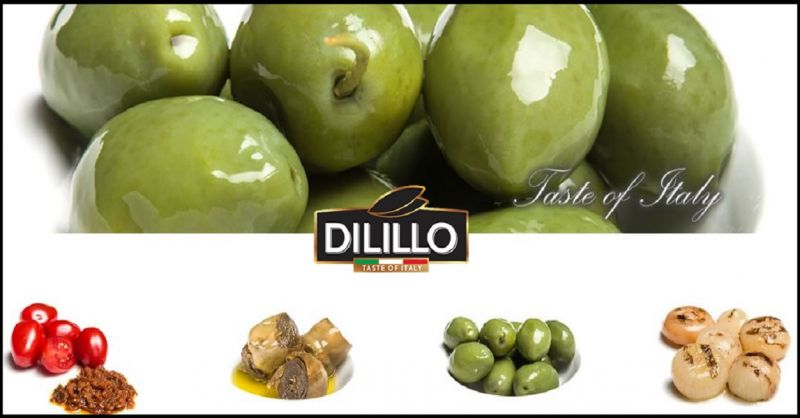 La Dilillo Food offer made in Italy gastronomy production - sale of Cerignola olives