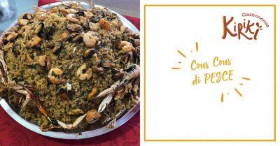 kiriki offerta specialita cous cous di pesce marsala occasione tavola calda marsala