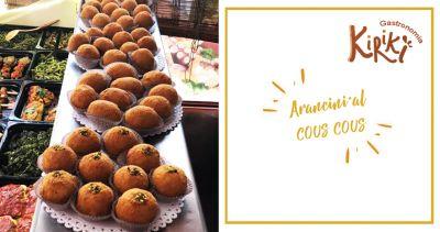 kiriki gastronomia offerta arancini al cous cous marsala