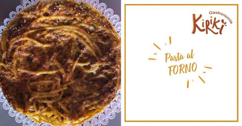 KIRIKI GASTRONOMIA offerta pasta al forno con sarde pesto trapanese marsala