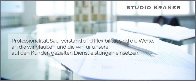 STUDIO KRANER - Beratung in Unternehmens-, Gesellschafts-, Wirtschafts- und Steuerfragen