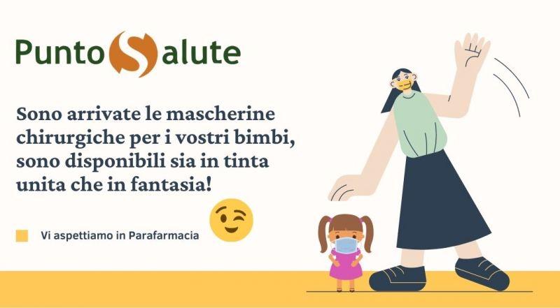 Vendita mascherina chirurgica per bambini a Novara – Offerta mascherina chirurgica colorata per bambini a Novara