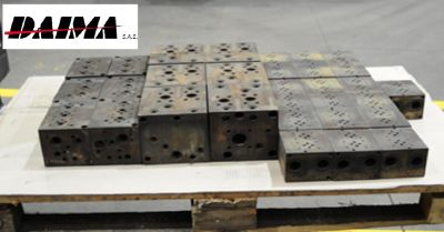 daima sas offerta lavorazione sbavatura termica metalli occasione trattamenti chimici metalli