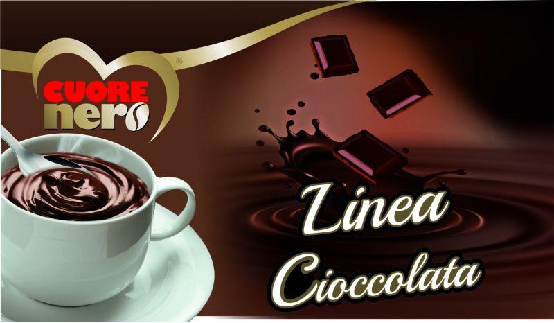 offerta vendita bustine monodose cioccolata calda - occasione vendita cioccolata cuore nero