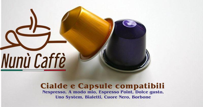 offerta vendita cialde e capsule caffè compatibili Nespresso, A modo mio, Espresso Point