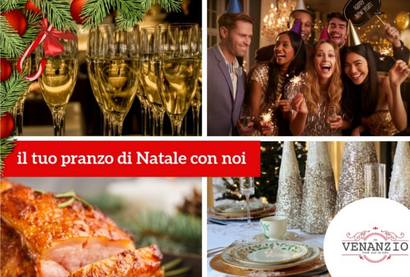 Offerta pranzo di Natale - Promozione ristorante menu pranzo di natale