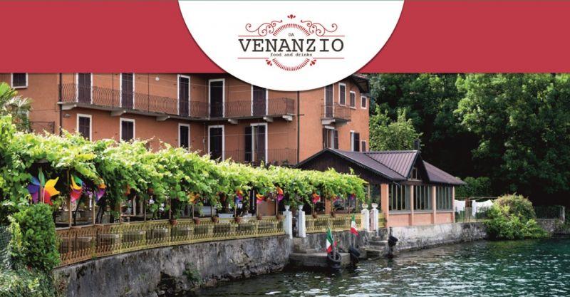 RISTORANTE DA VENANZIO offerta cena sul lago Novara - promozione pizzeria forno a legna Novara