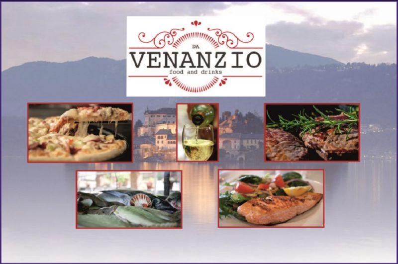 offerta ristorante menu di terra e pizzeria con vista lago - RISTORANTE DA VENANZIO