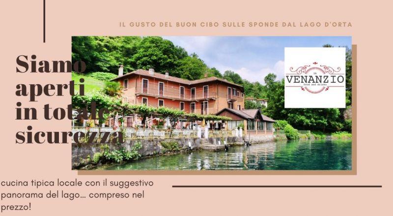 Occasione ristorante con pesce di lago fresco a Novara sul Lago D'Orta – Offerta ristorante pizzeria sulle sponde del Lago D'Orta a Novara