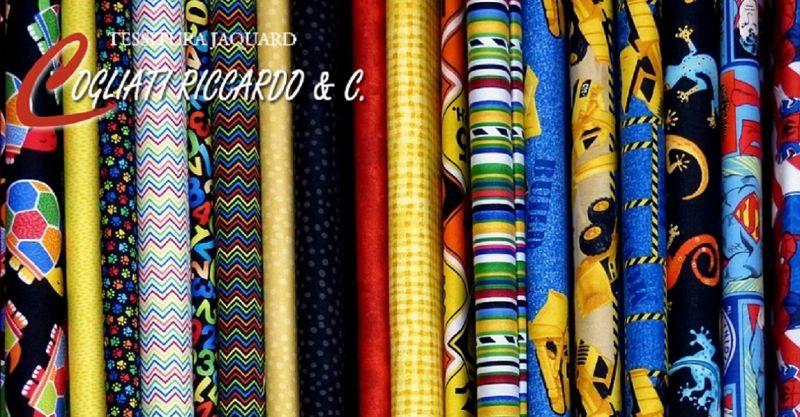 TESSITURA COGLIATI - offerta vendita e consegna tessuti e stoffe per l'abbigliamento e l'arredo