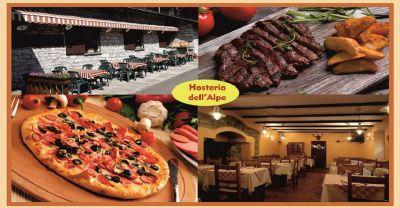 offerta piatti tipici di montagna valleintelvi promozione ristorante specialita valtellina