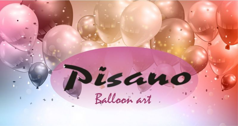 PISANO ORISTANO - offerta composizioni personalizzate con palloncini per feste ed eventi