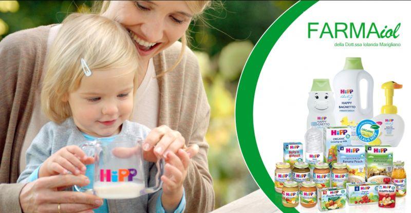 FARMAIOL  PARAFARMACIA  SILANUS - offerta prodotti biologici per bambini Hipp
