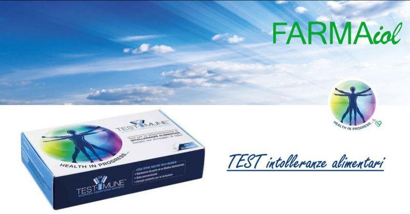 FARMAIOL PARAFARMACIA  - offerta test determinazione intolleranze alimentari prodeco pharma