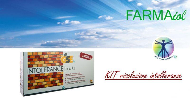 FARMAIOL PARAFARMACIA - offerta GSE plus kit risoluzione intolleranze alimentari Prodeco Pharma