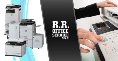 r r office service offerta vendita assistenza fotocopiatrici sharp marsala
