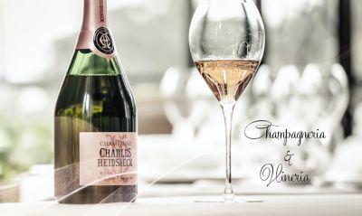 champagneria e vineria offerta aperitivo con champagne crudite di mare promo eventi esclusivi