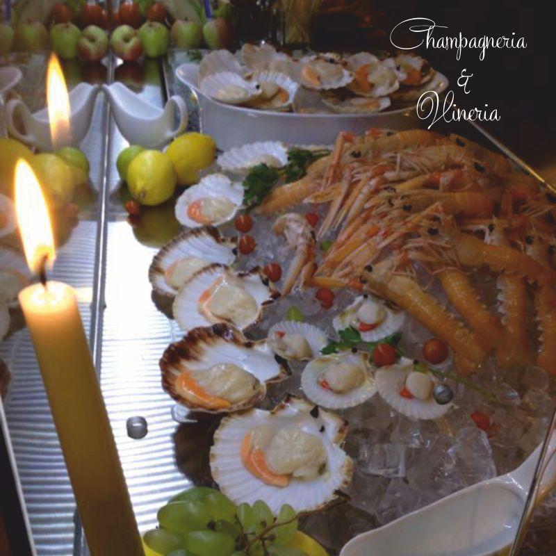 CHAMPAGNERIA & VINERIA offerta cena a base di pesce crudo – promozione specialita di mare