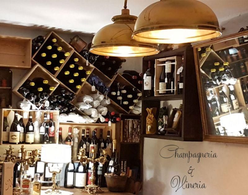 CHAMPAGNERIA & VINERIA offerta degustazione vino - promozione ristorante enogastronomico