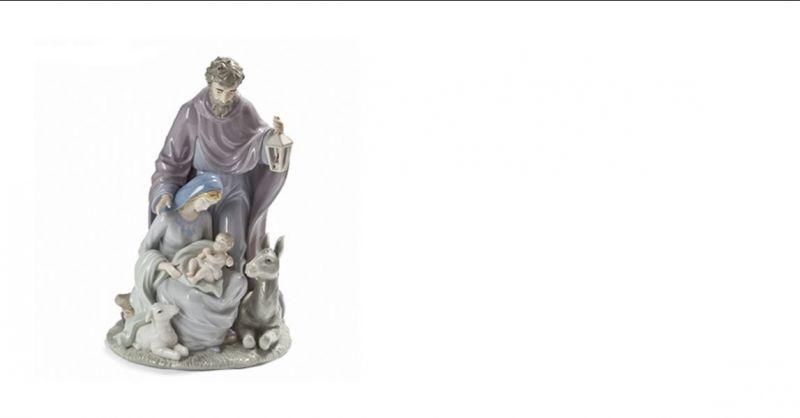 offerta nativita' fade maison natale presepe promozione regalo natale porcellana lucida