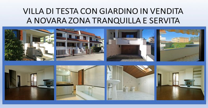 Offerta Vendita Villa Unifamiliare Novara -Promozione Villa con giardino Novara
