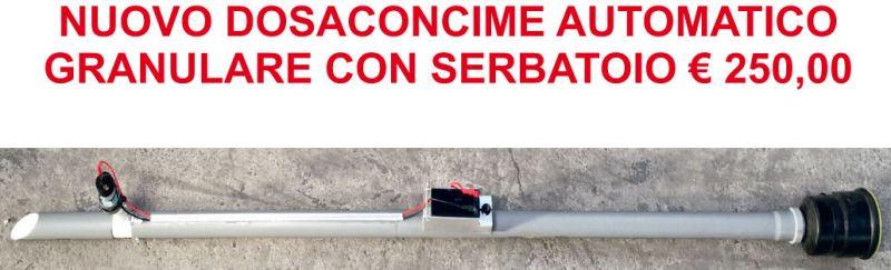 OFFERTA vendita Dosaconcime Automatico Granulare FLOR SYSTEM