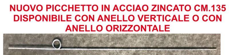 OFFERTA Vendita Picchetto acciaio zincato FLOR SYSTEM Albenga