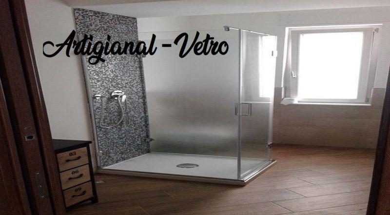 Artigianal-Vetro offerta box doccia in vetro - occasione box doccia angolare Napoli