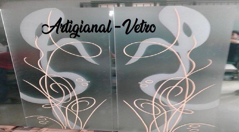 ARTIGIANAL-VETRO offerta specchi artistici - occasione vetrate artistiche artigianali Napoli