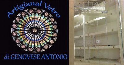 artigianal vetro offerta vetreria napoli occasione realizzazione strutture in vetro napoli